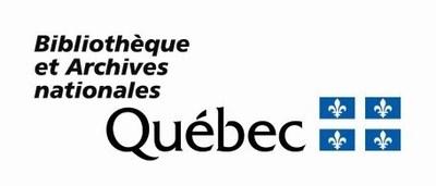 Logo : Bibliothèque et Archives nationales du Québec (Groupe CNW/Bibliothèque et Archives nationales du Québec)