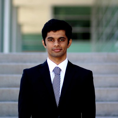 Chaitanya Date, the winner of this year's Brightest Minds MBA Scholarship Contest