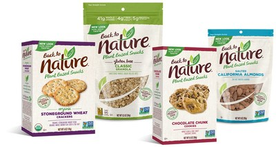 Back to Nature Re-Branded Packaging