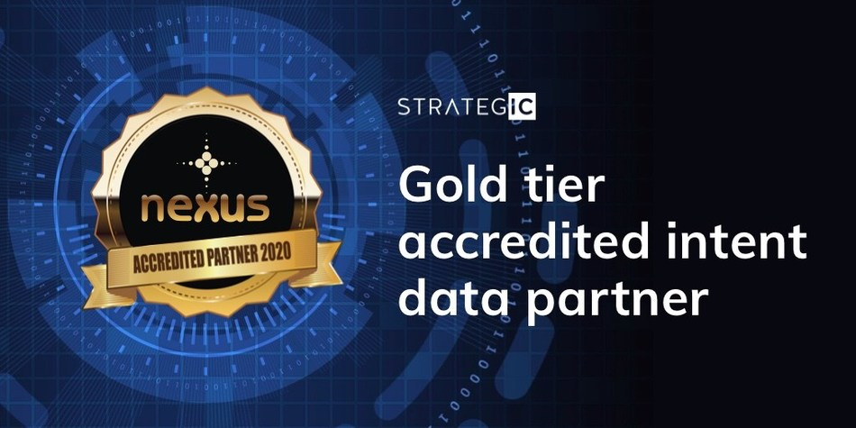 Strategic IC achieves Nexus gold tier accreditation for its intent data ABM programmes