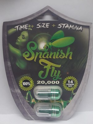 Spanish Fly 20,000 (CNW Group/Health Canada)