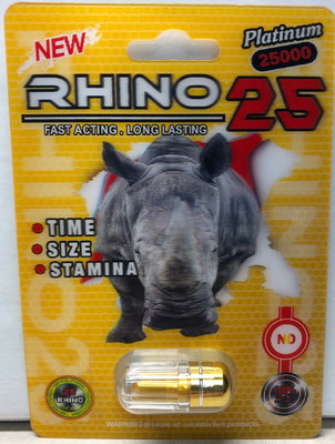 Rhino 25 Platinum 25000 (CNW Group/Health Canada)
