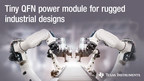 Smallest 36-V, 4-A power module cuts solution size by 30%