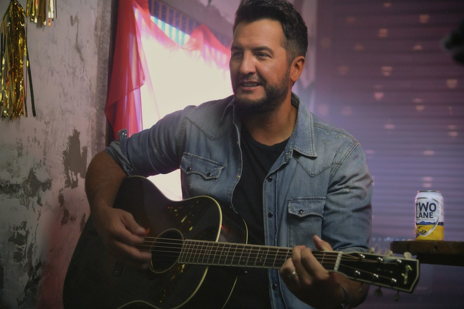 Luke Bryan and Constellation Brands collaborate to serve up Two Lane American Golden Lager.