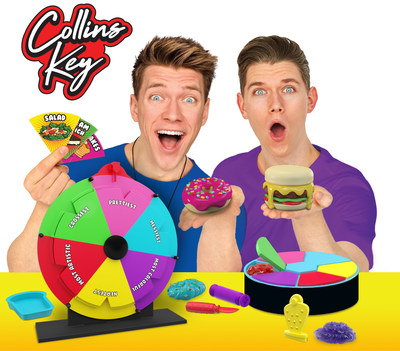 Moose Toys has partnered with Collins and Devan Key, creators of the No. 1 brand-friendly YouTube channel, to create hands-on challenge and DIY-inspired toys set to launch fall 2020.