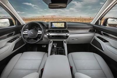Premian al Kia Telluride como mejor interior de vehículo 2020 menos de $50,000 por Autotrader 2020