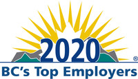 Leading the field in Canada's most competitive labour market: 'BC's Top Employers' for 2020 are announced (CNW Group/Mediacorp Canada Inc.)