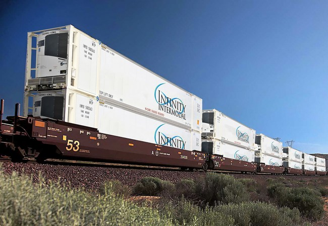 Infinity Intermodal Double-stacked Intermodal Containers