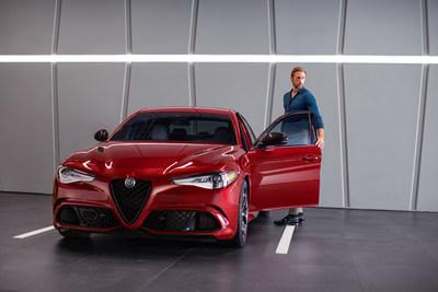 "Alexander Skarsgård stars in new ""Type A"" marketing campaign for Alfa Romeo"