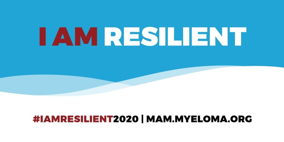 The International Myeloma Foundation encourages you to use the hashtag #IAMRESILIENT2020 on social media this March to support Myeloma Action Month.