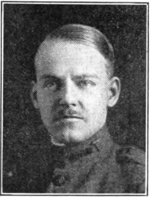 """Josiah Kirby """"Joe"""" Lilly, Jr. in his U.S. Army uniform while serving with the American Expeditionary Forces in France during World War I."""