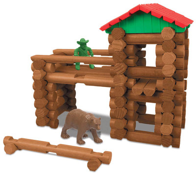 Lincoln Logs toy by K'Nex