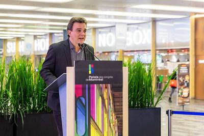 Robert Mercure, President and CEO of Palais des congrès de Montréal (CNW Group/Palais des congrès de Montréal)