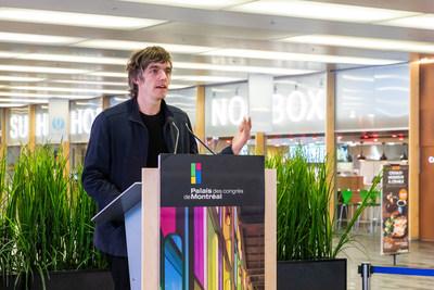 Michel de Broin (CNW Group/Palais des congrès de Montréal)