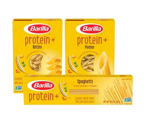 Barilla Protein+ comes in seven varieties