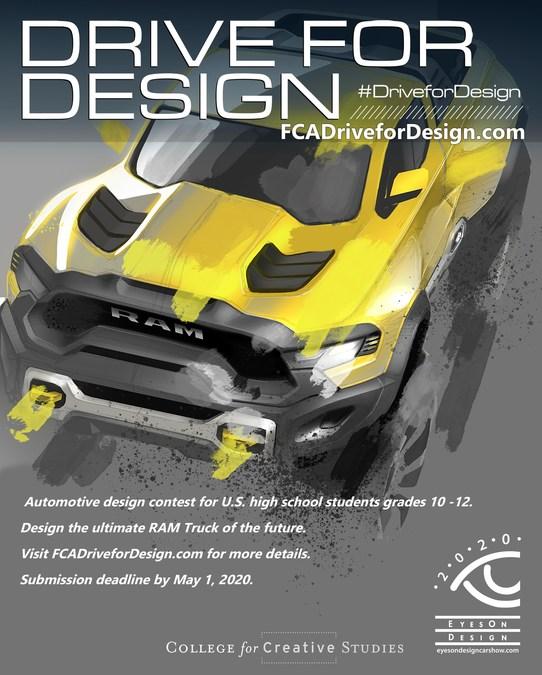 Fca Design Team Seeks High School Students To Design The Future Of Ram Truck