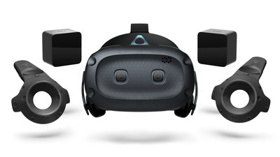 The Vive Cosmos Elite bundle will retail for $899 USD and be available later in Q1 (PRNewsFoto/HTC VIVE)