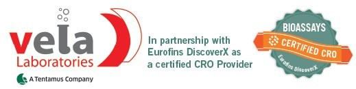 VelaLabs, a certified CRO provider of Eurofins DiscoverX assays