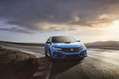 The 2020 Honda Civic Type R begins arriving at U.S. Honda dealerships February 28 with notable upgrades to ride and handling, braking performance and engine cooling. And Honda's first-ever performance datalogging app, available exclusively for use with Civic Type R, arrives this spring. The 2020 Type R also boasts freshened exterior and interior styling, standard Honda Sensing® safety and driver-assistive technology, and a stunning new Boost Blue exterior color, with an MSRP of $36,995.