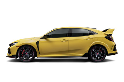 The ultimate street-legal track-focused variant of Honda's legendary Civic Type R will arrive on American shores later this year, the company announced today. The lighter, faster and even more ferocious 2021 Type R Limited Edition will feature all of the 2020 model year Type R updates, plus additional enhancements designed to make it the ultimate street-legal Type R track machine. Only 600 units of the 2021 Type R Limited Edition, all in brilliant new Phoenix Yellow, will be sold in the U.S.