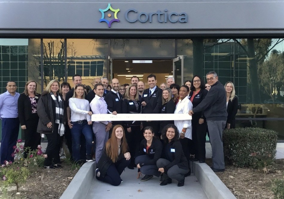 Cortica Westlake Village's founding team cut the ribbon on their new center.