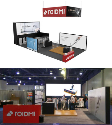 ROIDMI debuts new Cordless Vacuum Model at the 2020 VDTA Convention
