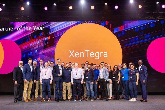 XenTegra - Citrix US Partner of the Year; Photo Courtesy of Citrix