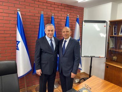 ILAN Mexico Founder Meets with Israeli Prime Minister to Continue Building Bilateral Ties and Support