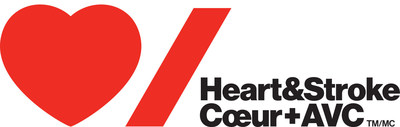 Logo: Heart and Stroke Foundation (CNW Group/Heart and Stroke Foundation)