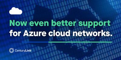 CenturyLink cuenta ahora con la capacidad de brindar servicios integrales de red y de consultoría respecto de los servicios de Azure, facilitándoles a los clientes la conexión y creación de soluciones de nube.