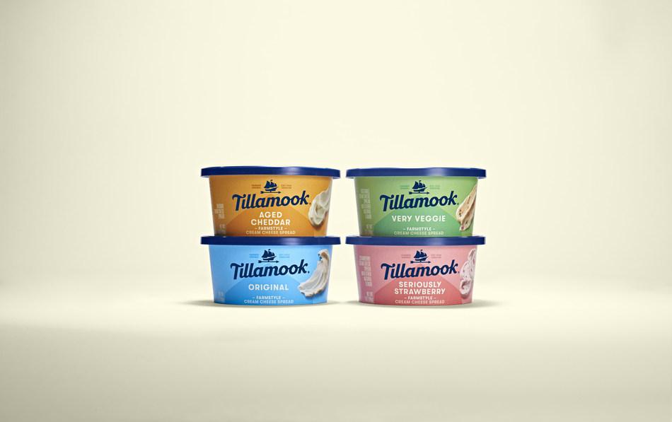 Tillamook Farmstyle Cream Cheese Spreads