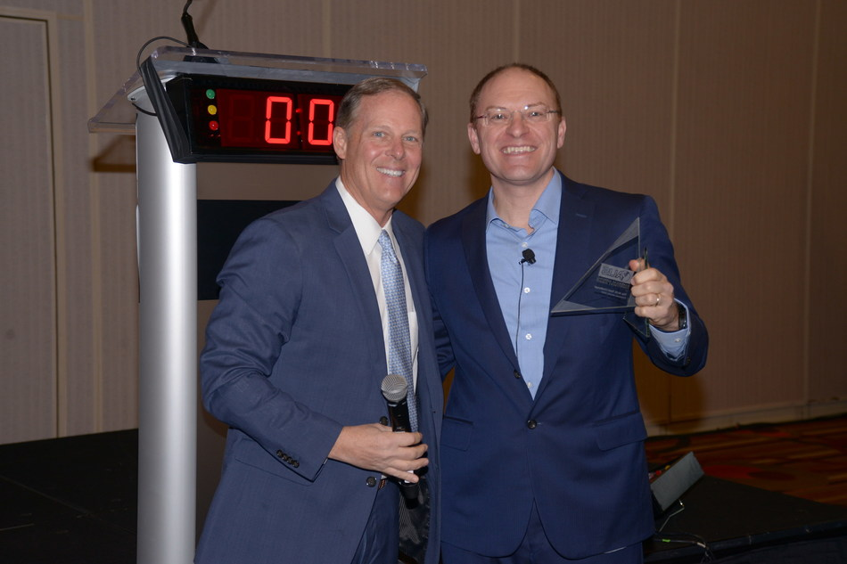 Left to Right: Rob Torres, managing director of Google Travel and Del Ross, Chief Revenue Officer at Hotel Effectiveness