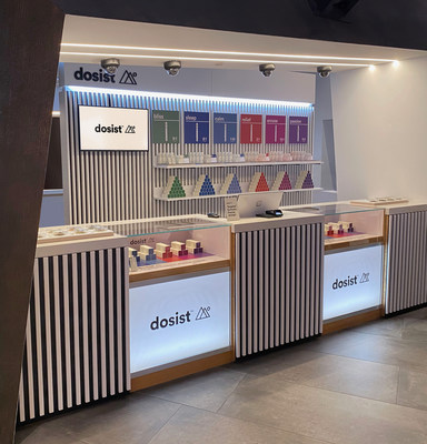 The newly opened dosist Wellness Experience shop-in-shop within the Planet 13 SuperStore dispensary in Las Vegas