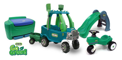 New Little Tikes 'Go Green' line of Sustainable Products