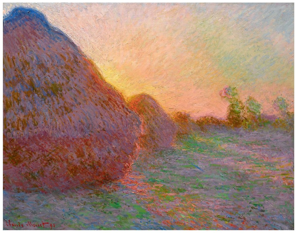 Claude Monet - Haystacks (1890) (PRNewsfoto/Artprice.com)