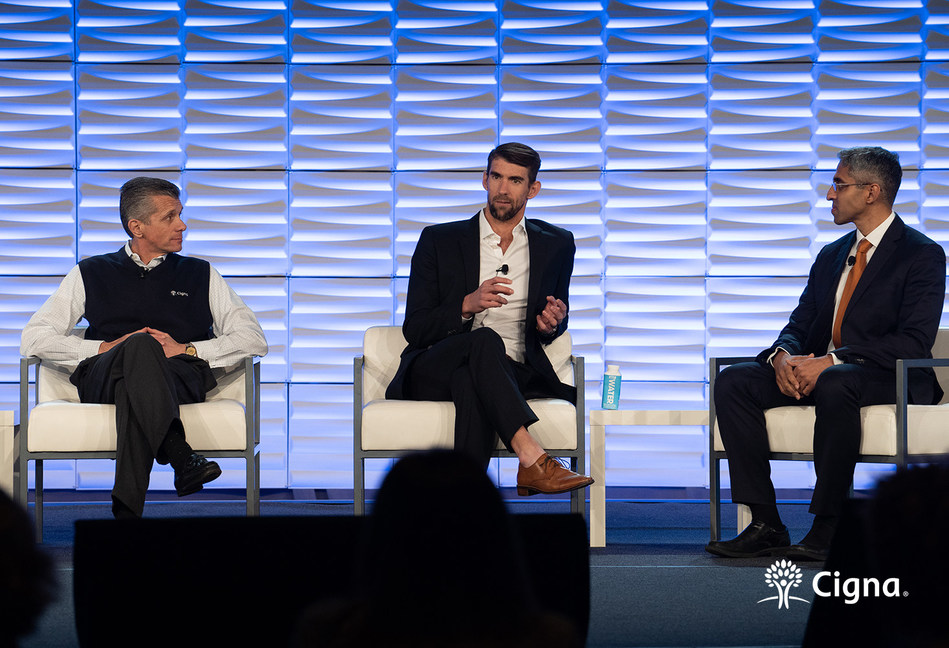 Cigna brings together World Champion Michael Phelps and 19th Surgeon General of the United States Dr. Vivek Murthy to address loneliness and depression.