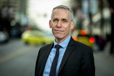 Kevin Thomas, directeur général de SHARE (Groupe CNW/Fonds de solidarité FTQ)