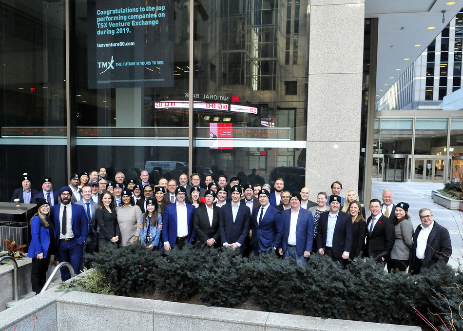 2019 TSX Venture 50 Opens the Market (CNW Group/TMX Group Limited)