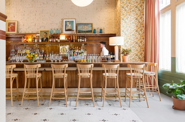 Fisher Loft, the all-day restaurant and bar at the newly opened Palihotel San Francisco