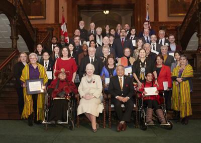 Les Prix du lieutenant-gouverneur pour réalisations en matière de conservation du patrimoine ontarien de 2019 reconnaissent l'excellence en matière de conservation du patrimoine en Ontario (Groupe CNW/Fiducie du patrimoine ontarien)