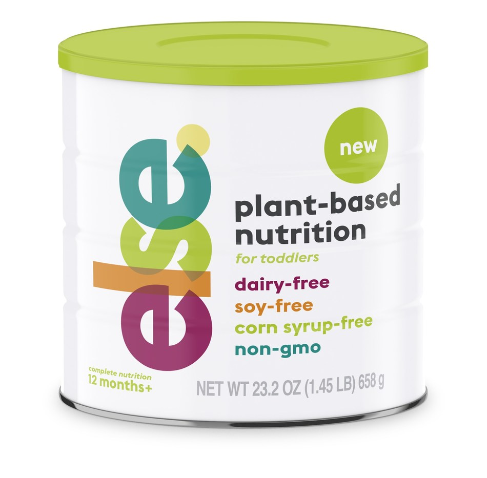 Else Nutrition Aims to Disrupt Baby and Child Nutrition with Plant-Based, Non-Dairy/Non-Soy Formulas