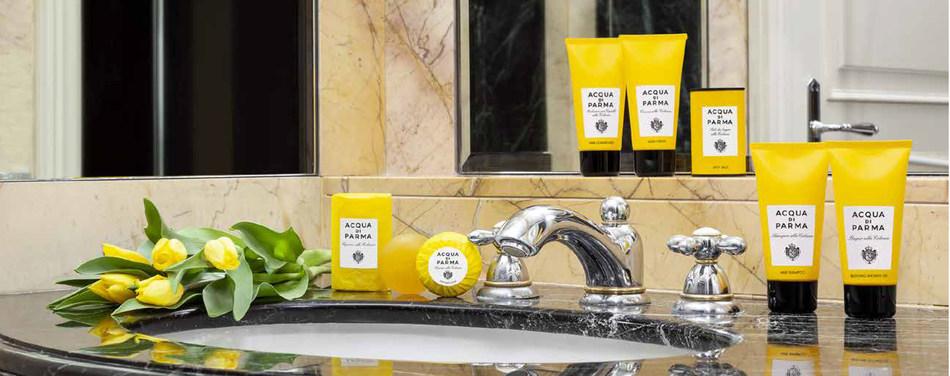 """Acqua Di Parma é a nova linha de fragrâncias do eleito """"o melhor hotel romântico do Brasil"""""""