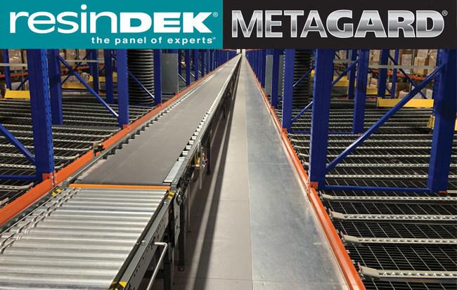 ResinDek with MetaGard Steel Flooring Panels for Full Case Pick Module