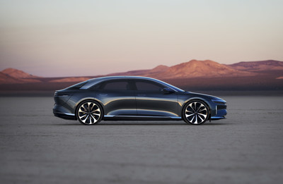 Lucid Motors announces a long-term partnership with leading EV battery supplier LG Chem to power standard versions of its Lucid Air pure-electric sedan, ensuring long-term volume production.