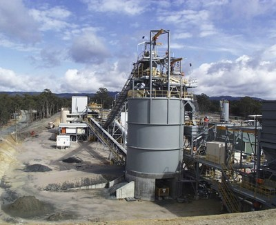 Beaconsfield Gold Processing Plant