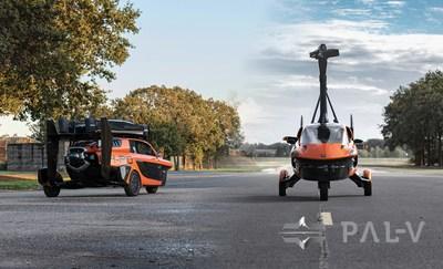 El coche volador PAL-V Liberty podrá verse en GIMS 2020