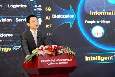 Ma Yue, vice-presidente do Huawei Enterprise Business Group (PRNewsfoto/Huawei)