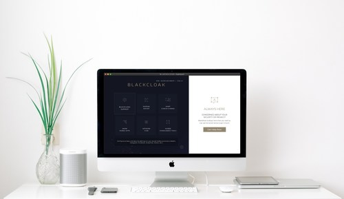 BLACKCLOAK Cybersecurity and Privacy Platform