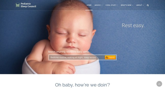 Search anything related to baby sleep at babysleep.com