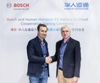 Bosch and Human Horizons Initiate Cooperation on Battery in the Cloud Service